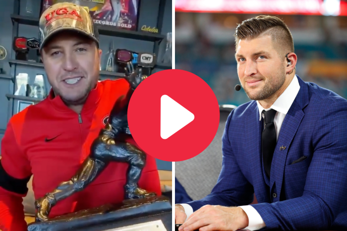 Tim Tebow Auctioned His Heisman Trophy, and a Country Star UGA Fan Won It