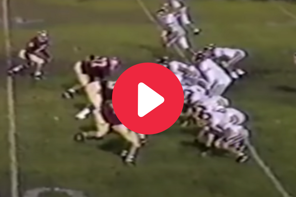 Tom Brady's High School Highlights Show a Young Master at Work