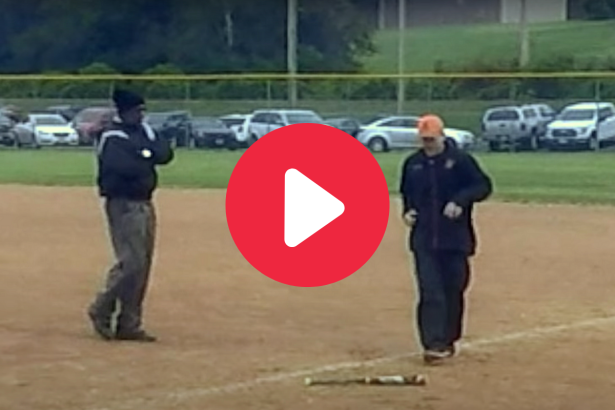 Umpire Bumps Youth Coach On Purpose, Then Ejects Him