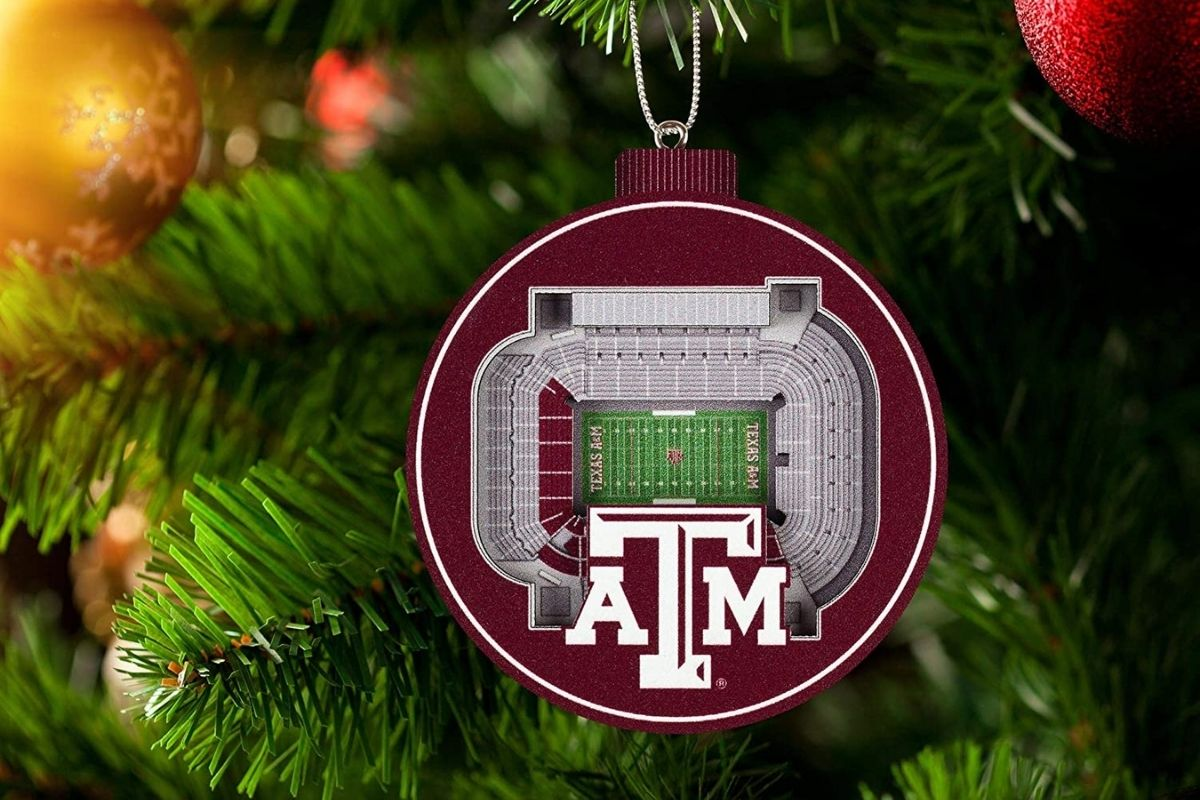 texas a&m christmas ornament