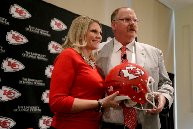 Andy Reid & His Wife Have Been Married Almost 40 Years