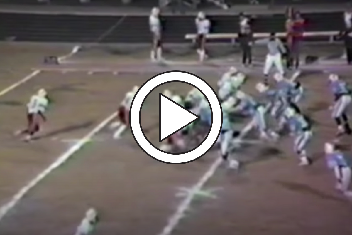 Vintage Barry Sanders High School Highlights Are Pure Gold