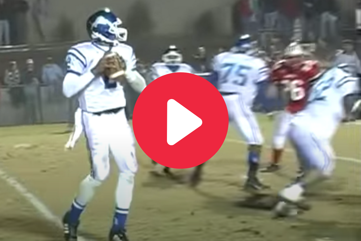 "Cam Newton's High School Tape Shows a Young ""Superman"""