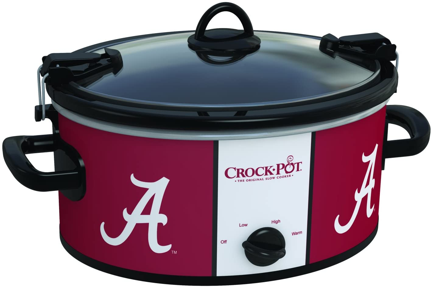 Crock-Pot Alabama Crimson Tide Collegiate 6-Quart Cook & Carry Slow Cooker