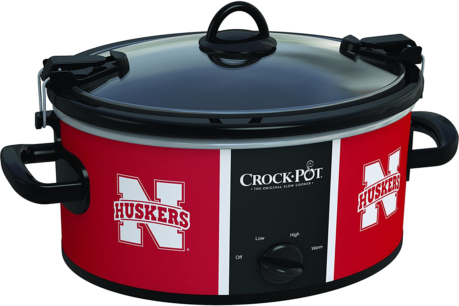 Crock-Pot Nebraska Cornhuskers Collegiate 6-Quart Cook & Carry Slow Cooker
