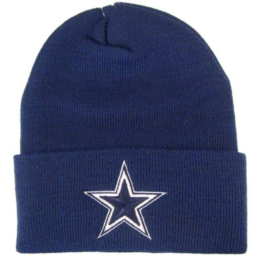 Dallas Cowboys Navy Basic Knit Beanie