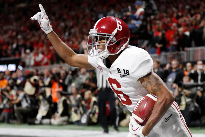 DeVonta Smith Cemented Himself as Alabama's Best WR Ever