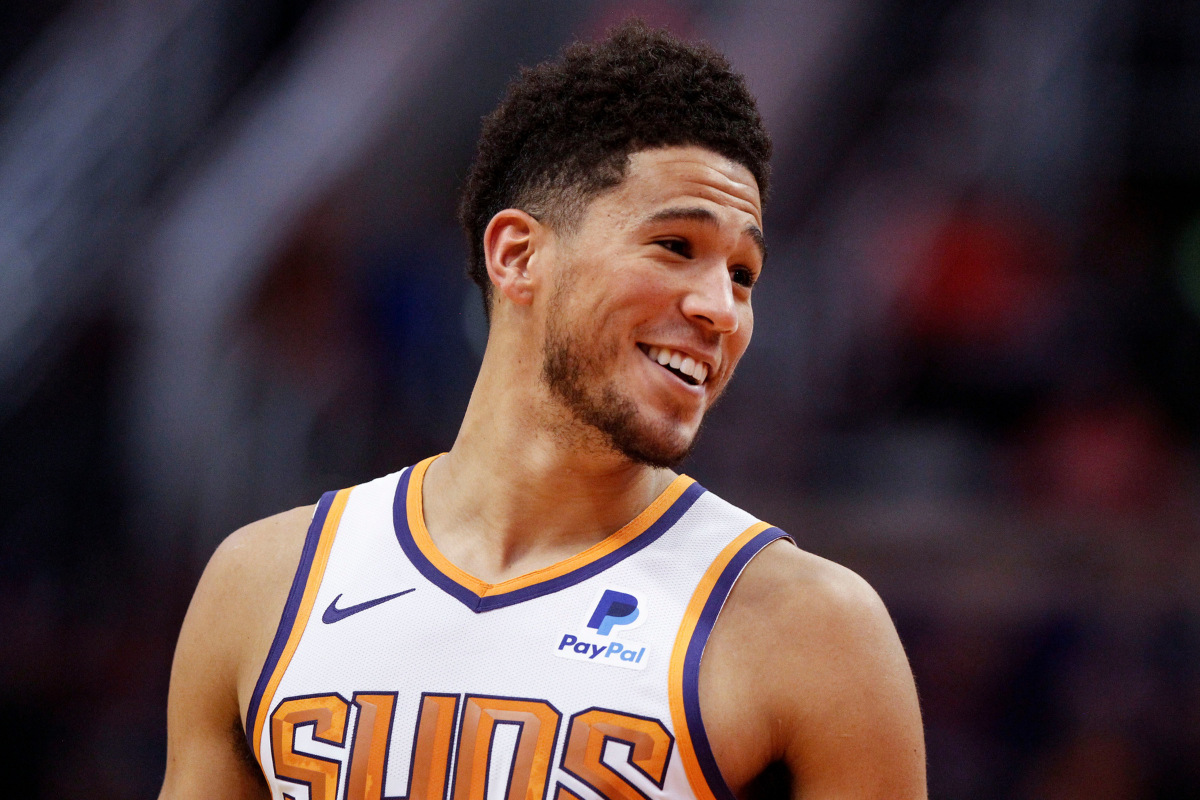 Devin Booker's Career (And His Dating Life) Continues to Heat Up