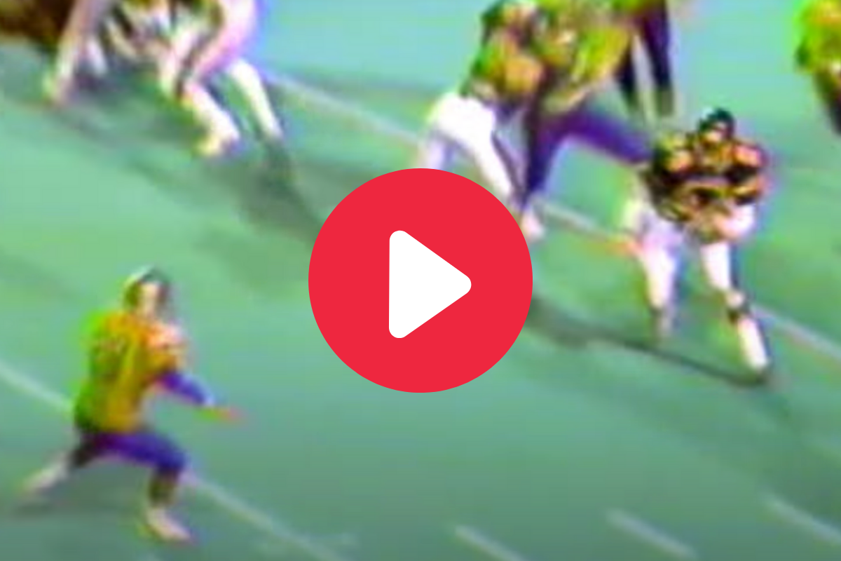 Emmitt Smith's Vintage HS Tape Shows a Young Stud at Work