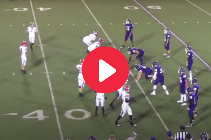 "High School's ""Walk to Sideline"" Trick Play Works to Perfection"