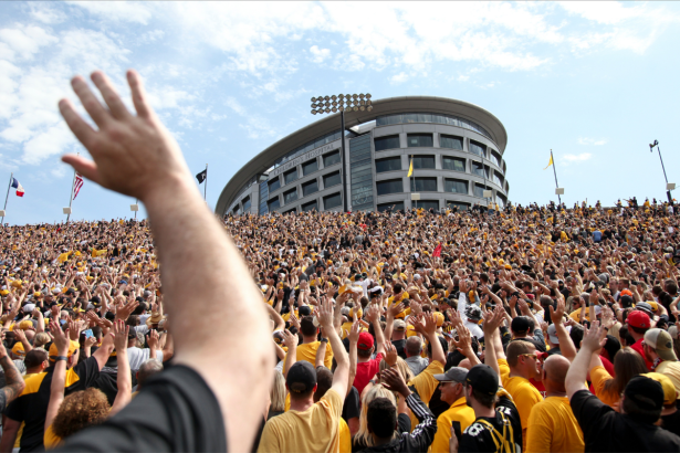 """The """"Iowa Wave"""" is College Football's Most Inspiring Tradition"""