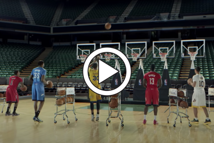 "NBA's Iconic ""Jingle Hoops"" Commercial Never Stops Being Awesome"