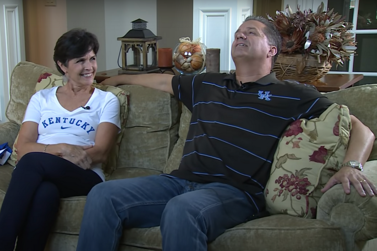 John Calipari's Wife Calls Him Her Roommate on Social Media