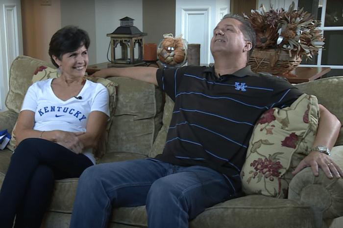 John Calipari's Wife Calls Him Her Roommate on Social Media