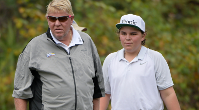 """Little John"" Daly Following in Dad's Golfing Footsteps"