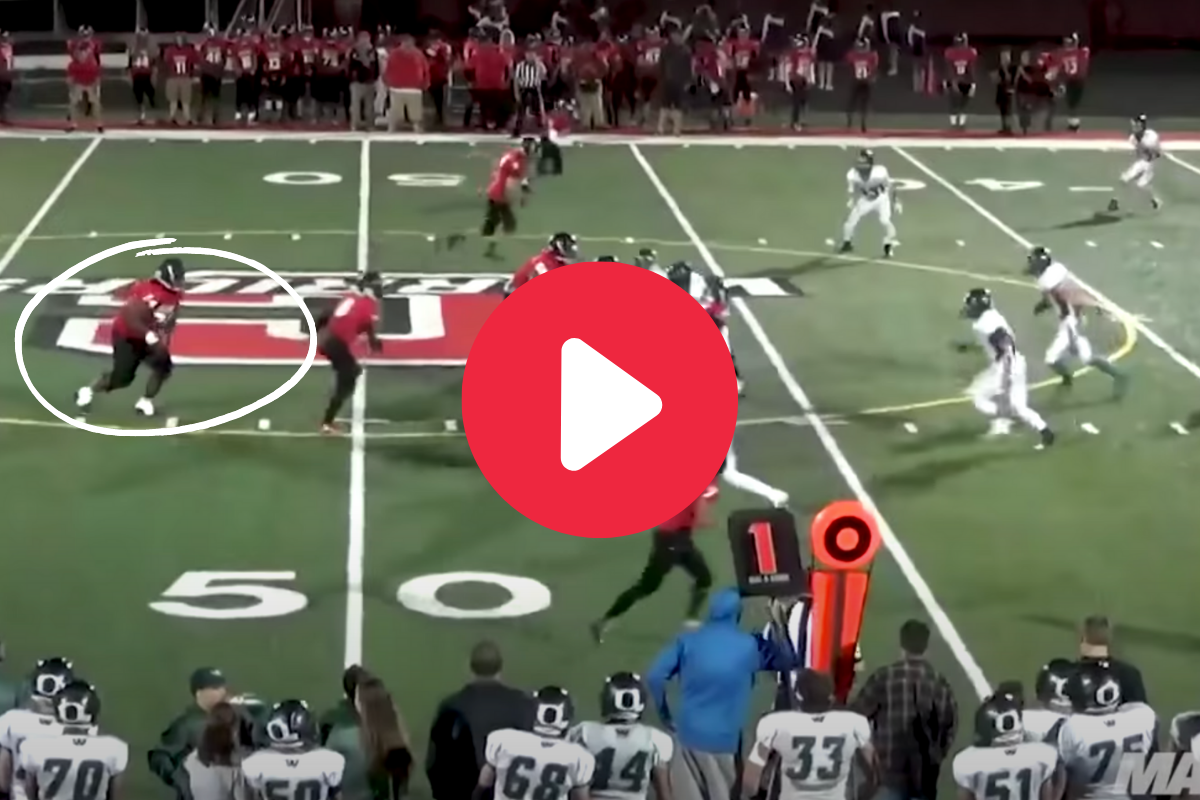 350-Pound Running Back Bulldozed Every Opponent He Faced