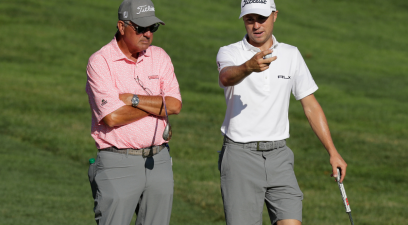 Justin Thomas' Dad is His Son's Biggest Fan & Teacher