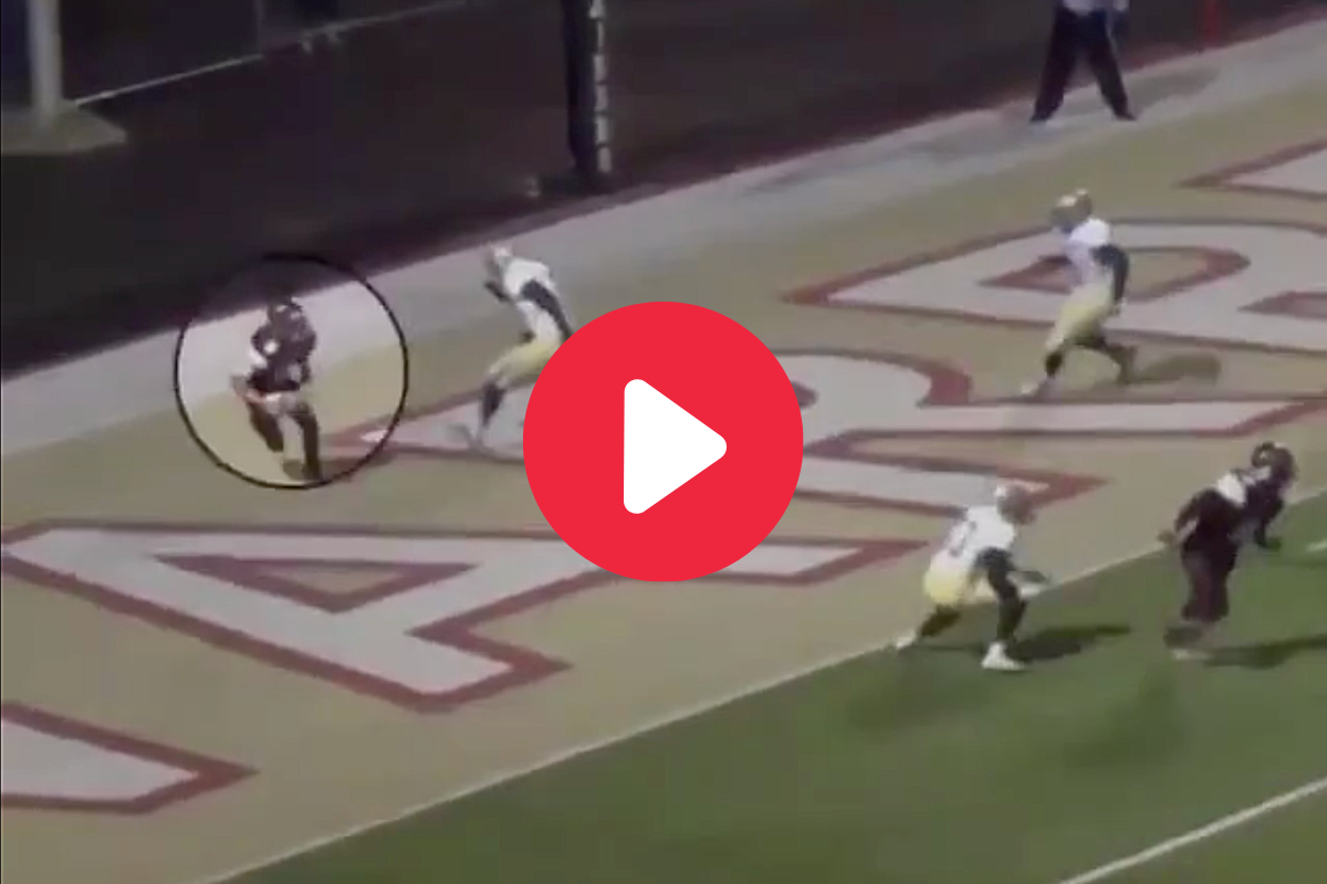 HS Punter Scored 109-Yard TD, Then Starred in the SEC