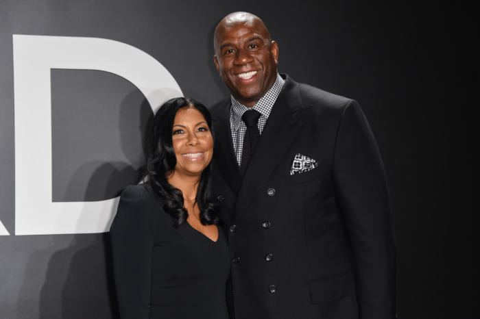 Magic Johnson's Wife Has Stood By His Side Through It All