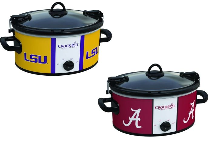 College Football Crock-Pots Are Perfect for Making GameDay Snacks on a Budget