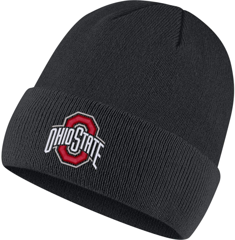 Nike Unisex NCAA Logo Beanie Knit Hat