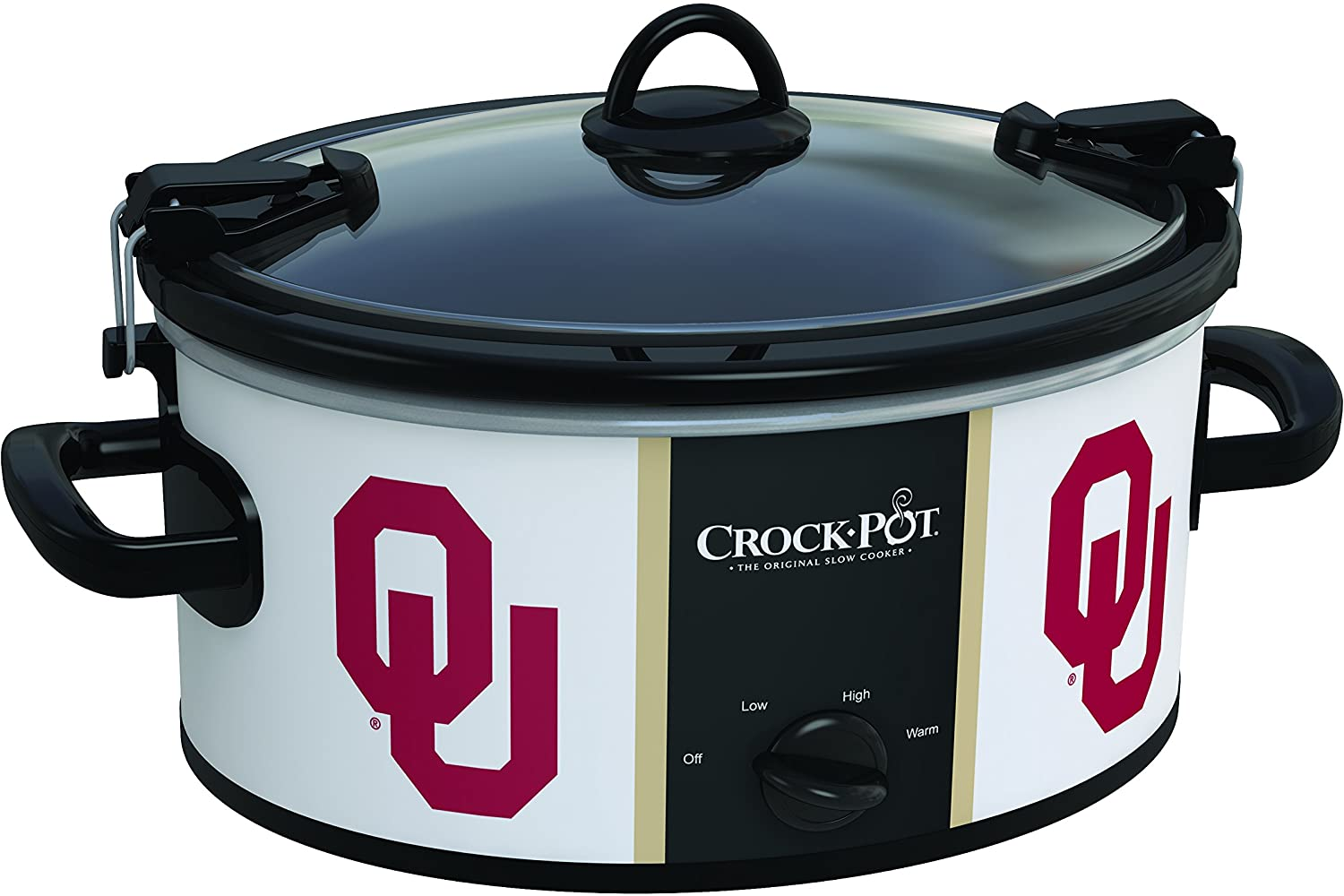 Oklahoma Sooners Collegiate Crock-Pot Cook & Carry Slow Cooker