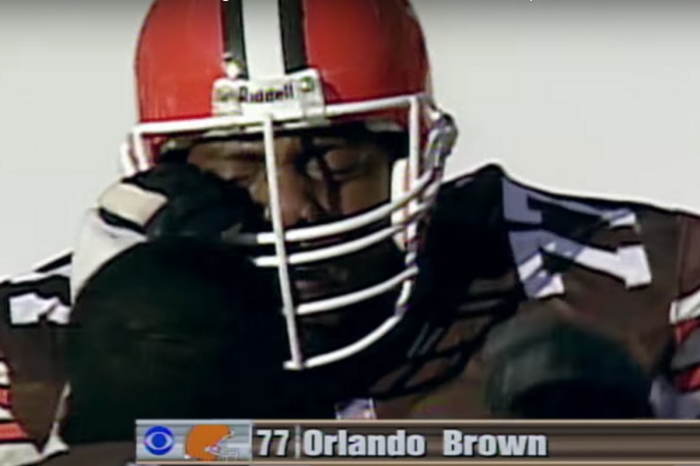 Orlando Brown Got Hit With a Penalty Flag, And It Ruined His Career