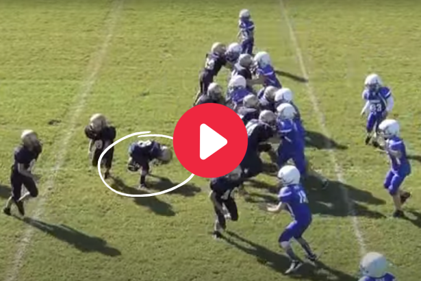 """Pee Wee Player's """"Through-The-Legs"""" Trick Play is Adorably Brilliant"""