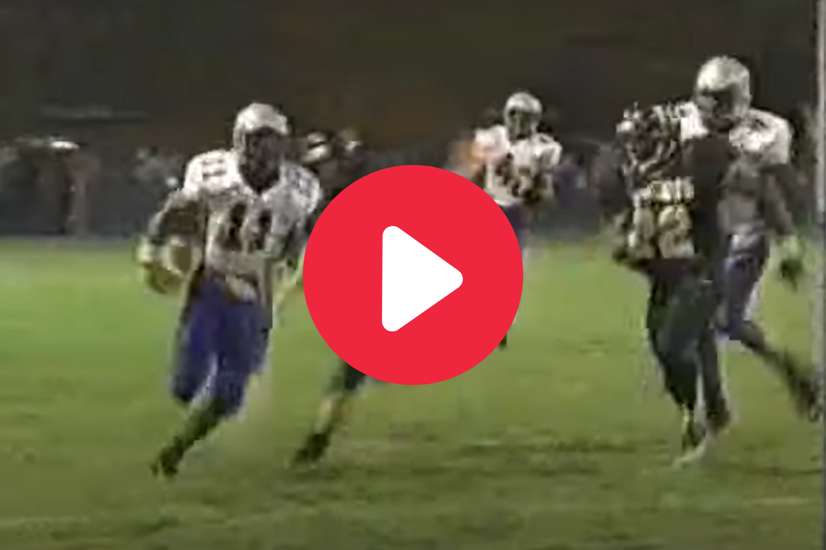 Percy Harvin Completely Wrecked Defenses in High School