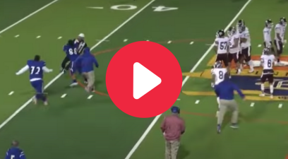 Angry HS Player Tackles Referee After He Ejected Him