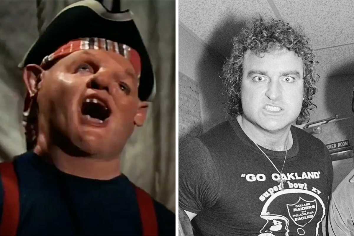 Sloth From 'The Goonies' Won 2 Super Bowl Rings in Real Life