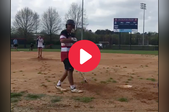 Cocky Baseball Player Strikes Out Against Softball Girlfriend