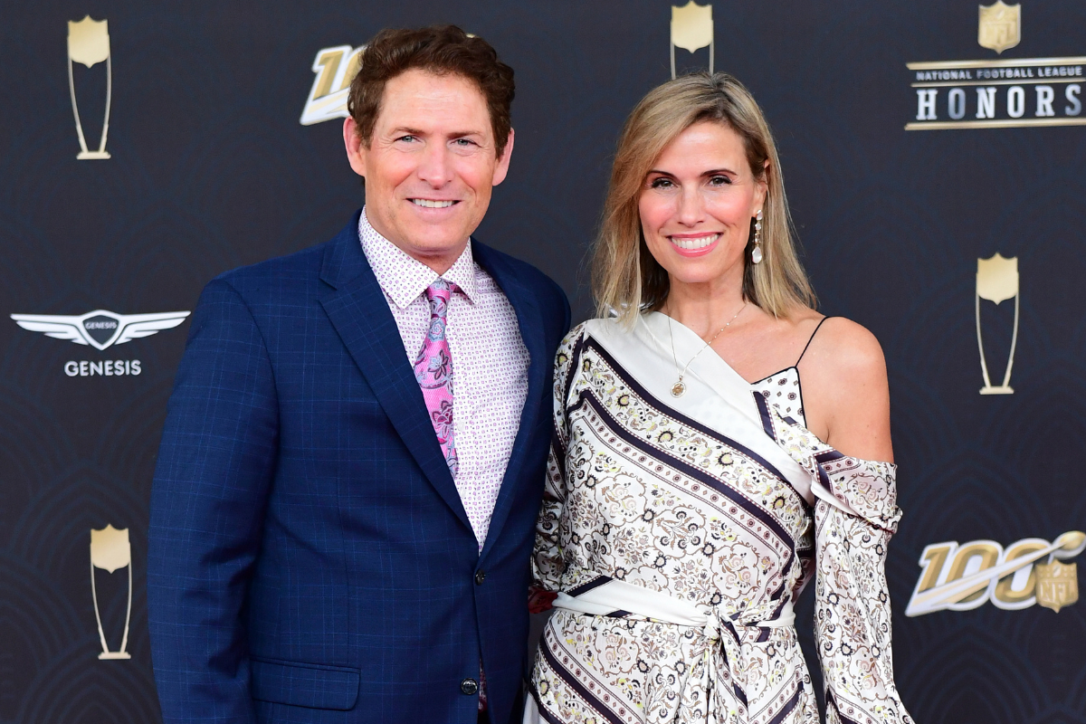 Steve Young Met His Model Wife on a Blind Date