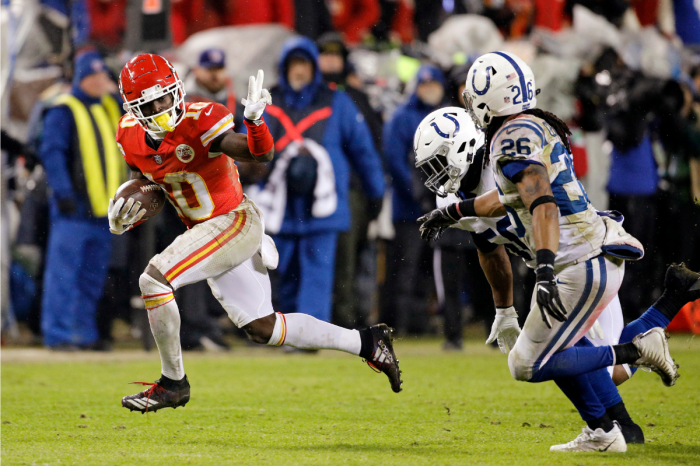 "Tyreek Hill's Speed Earned Him His ""Cheetah"" Nickname"
