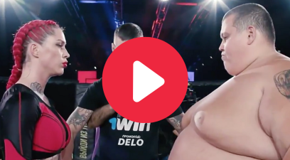 Female Fighter Knocks Out 529-Pound Man in First Round