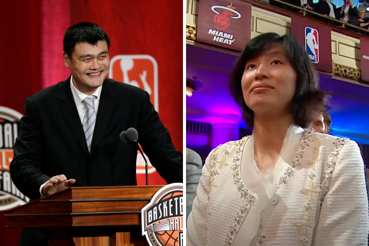 Yao Ming's Wife Was an Olympic Basketball Player, Too