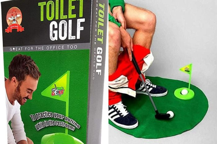 Toilet Golf: Strike While the Iron is Hot