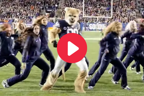 BYU Mascot's Viral Dance Routine Completely Stole the Show
