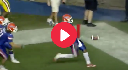 Brandon Spikes' Pick-Six Punt Celebration Embarrassed LSU