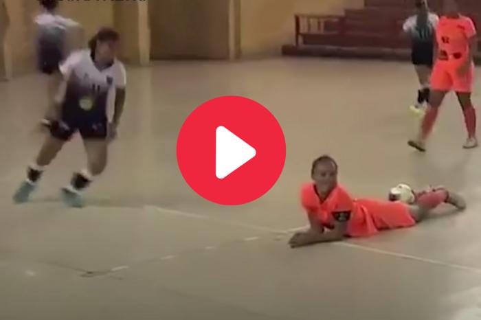 Female Soccer Player Kicks Girl in the Head for Showboating