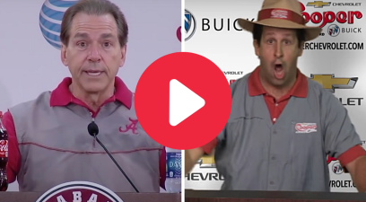 Car Salesman's Nick Saban Impression is Spot-On Comedy