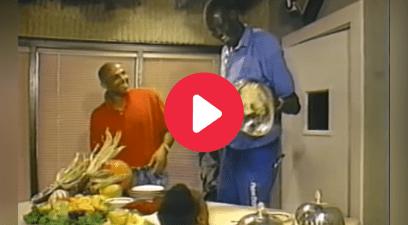 Charles Barkley's Vintage Dinner Table Prank is Nonstop Laughter