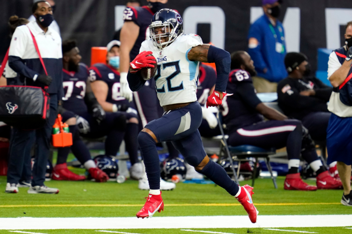 Derrick Henry Joins NFL's Elite 2,000 Rushing Yards Club