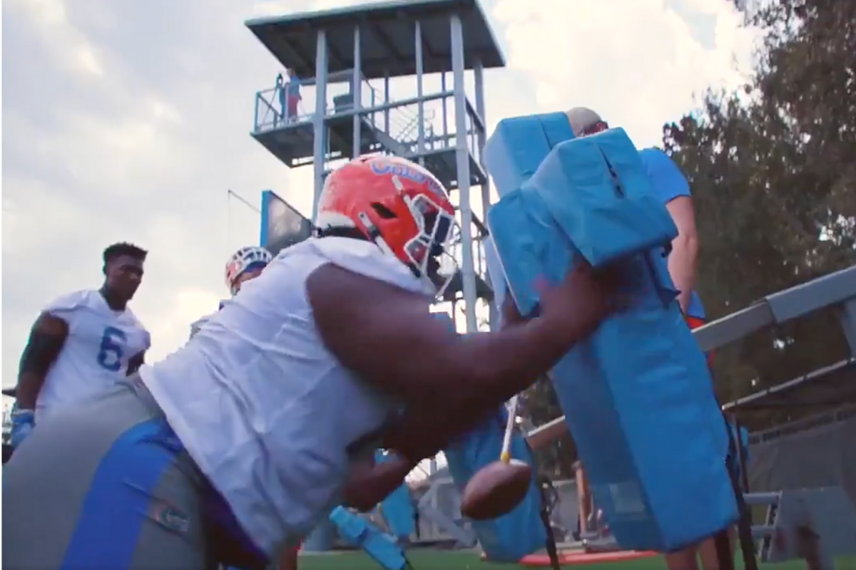 Florida's New 432-Pound DT is a Run-Stopping Monster