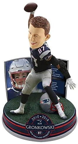 FOCO Rob Gronkowski Bobblehead NFL New England Patriots