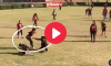 Female Flag Football Juke