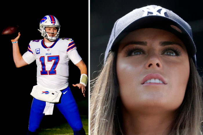 Josh Allen's Girlfriend is a Former College Cheerleader