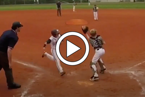 Little Leaguer Levels Catcher for No Reason, Gets Tossed Instantly