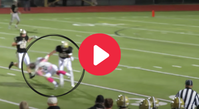 Massive Hit Draws Controversial Ejection in HS Football Game