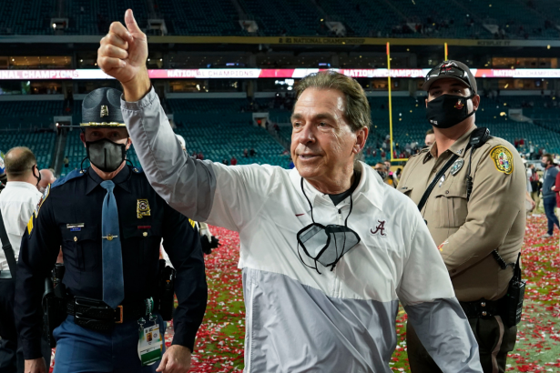 Why Nick Saban Should Retire While He's on Top